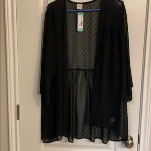 3x Sheer kimono for fall weather